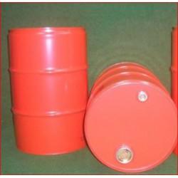Olievat oliedrum 200 liter rood