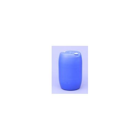 HDPE Kunstof vat blauw gesloten 2 openingen